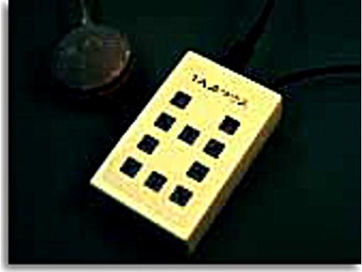 呼気スイッチによるマウスエミュレータ:1入力マウス