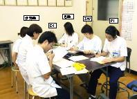 スタッフミーティングの写真