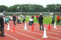 神奈川障害者スポーツ大会の写真